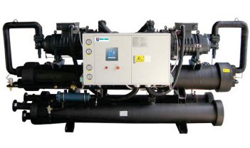 Water to Water Heat Pump (With R134a, Screw Compressor)