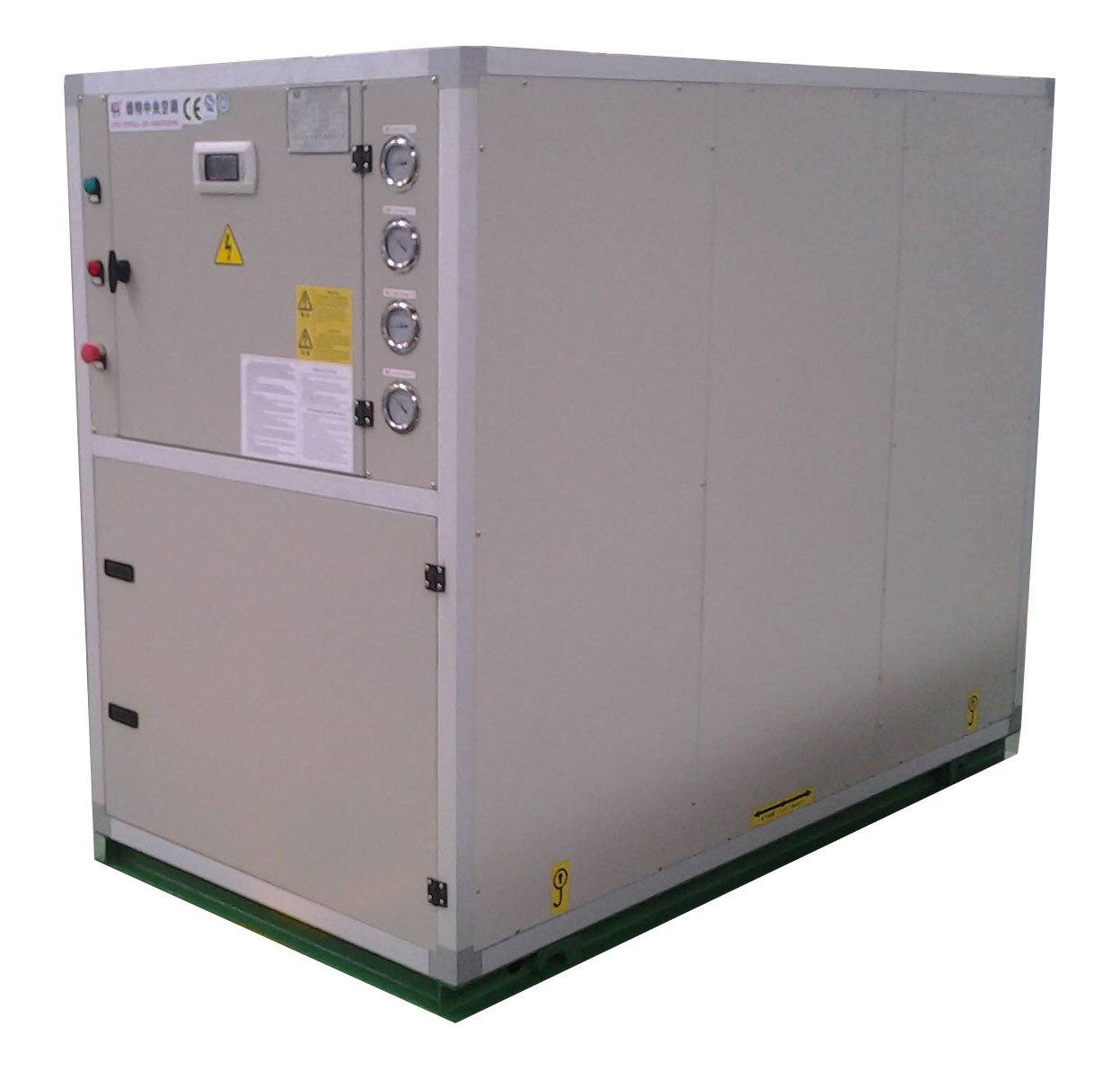 Geothermal Ground Source Heat Pump (Modular Type with Scroll Compressor)